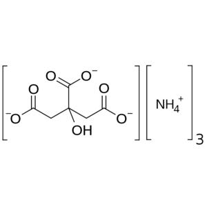 Tri-ammonium-citraat (TAC) 3% opl. in gedest.water