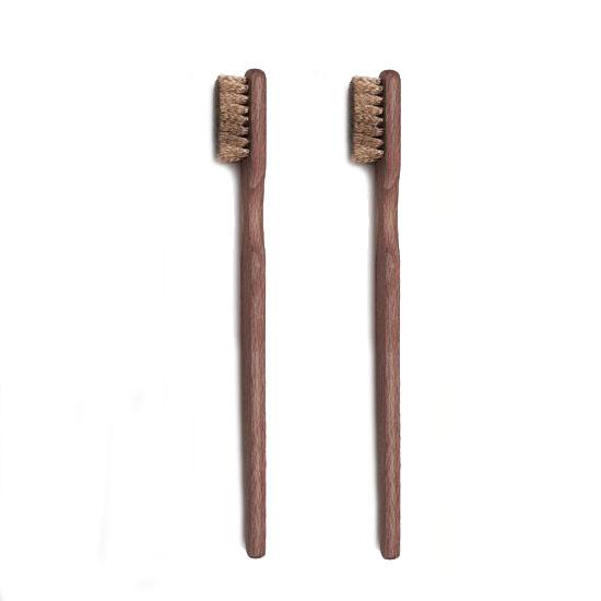Borstel van hout met messingdraad - 0.10 MM x 12 MM