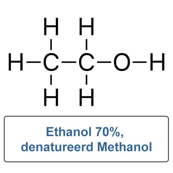 Ethanol 70% gedenatureerd 5% methanol