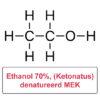 Ethanol Ketonatus 70% ged MEK