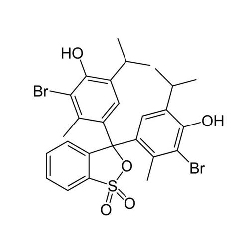Broomthymolblauw indicator