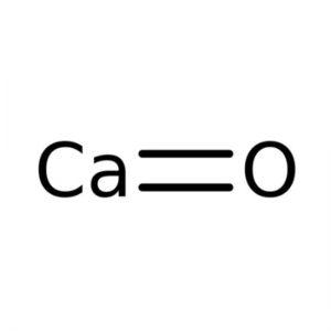 Calciumoxide (Ongebluste kalk)