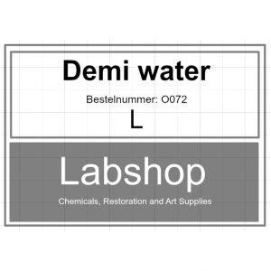 Demi water