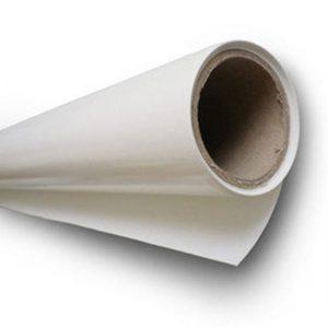 Gesiliconeerd papier-  wit eenzijdig - 150cm