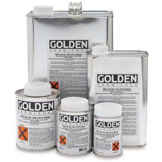 Golden M.S.A. Varnish met anti- U.V. filter mat