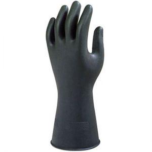 Handschoen HS ANSELL BlackHeavyweight G17K