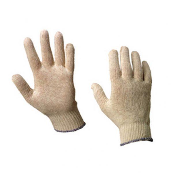 Handschoen katoen - Monotect - rondgebreid