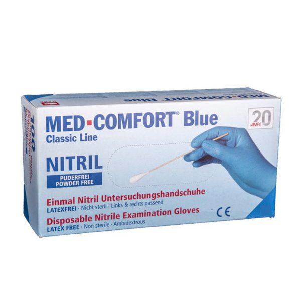 Handschoen nitril - comfort - poedervrij