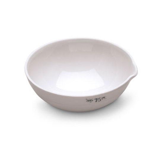 Indampschaal porcelein
