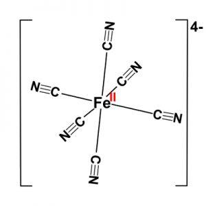 Kaliumhexacyanoferraat(II) / Geel bloedloogzout