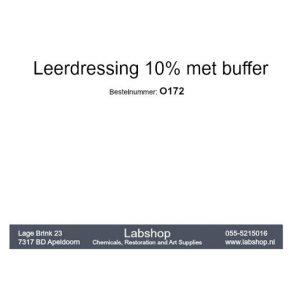 Leerdressing 10% met buffer