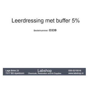 Leerdressing met buffer 5%