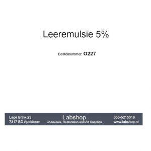 Leeremulsie 5%