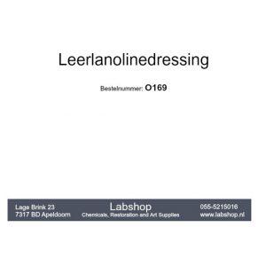 Leerlanolinedressing