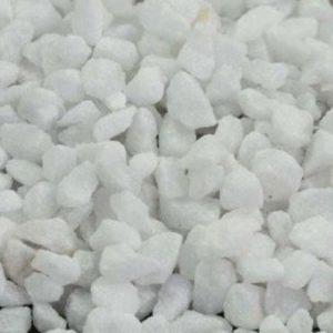 Marmergries (Carrara wit) 1.8 - 2.5 MM stofvrij