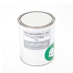 Microkristallijne was (emulsie voor metaalbescherming)
