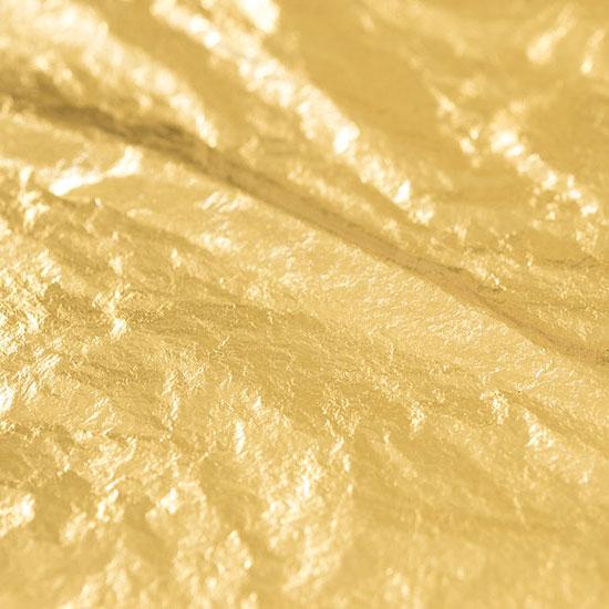 Noris 8x8cm 25 Vel - Dukaten Dubbel Gold 23 Karat - TRANSFER Bladgoud In Boekje