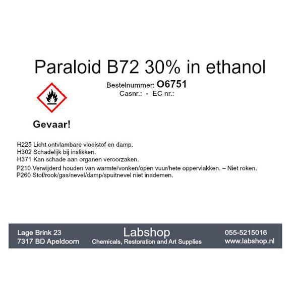 Paraloid B72 30% in ethanol