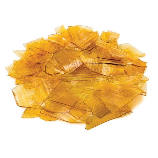 Schellak orange washoudend