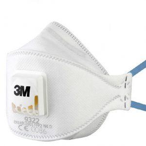 Stofmasker - P2 met ventiel 3M