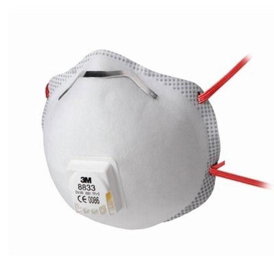 Stofmasker - P3 met ventiel 3M