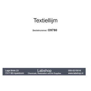 Textiel lijm