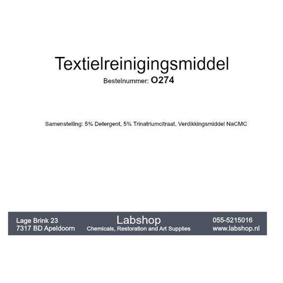 Textielreinigingsmiddel