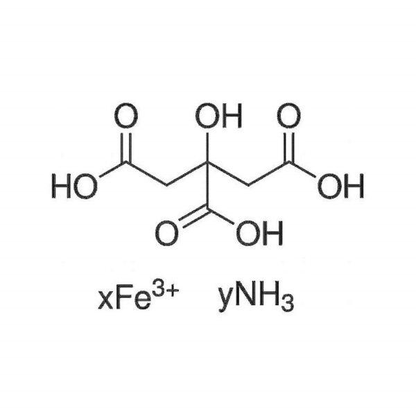 Ammoniumijzer III citraat groen