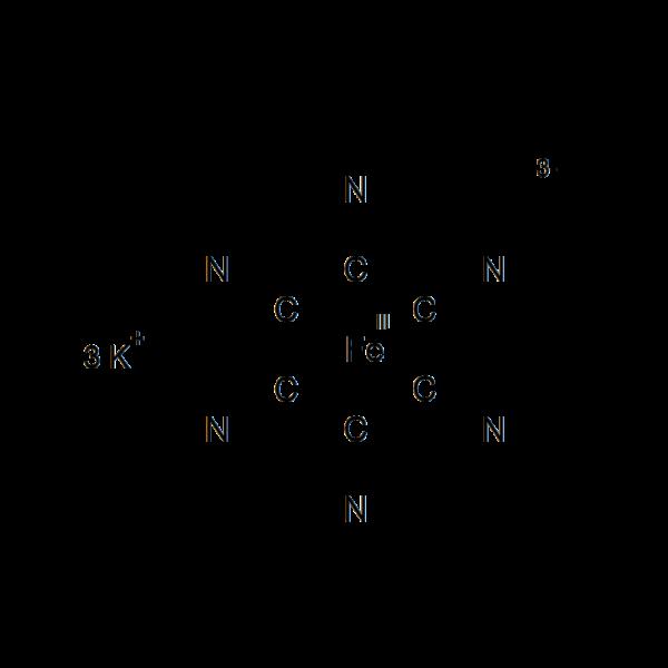 Kaliumhexacyanoferraat(III) / Rood bloedloogzout