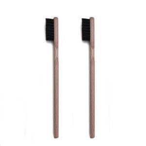 Borstel-korte steel varkenshaar zwart 13 MM