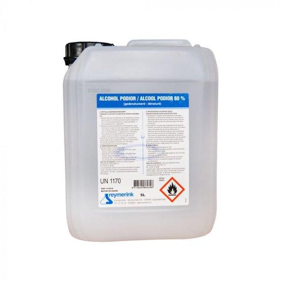 Alcohol 80% - 5 Liter Navulverpakking