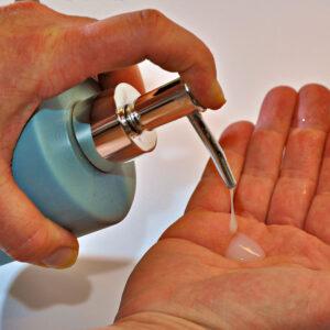 Desinfecterende-handgel