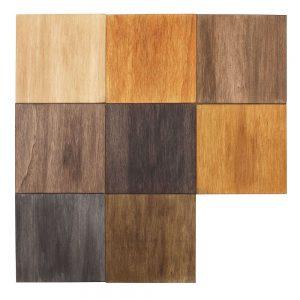 kleurenassortiment houttinten 8 delig kleuren