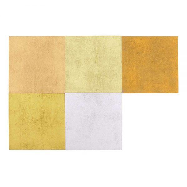 kleurenassortiment mettalic 5 delig kleuren