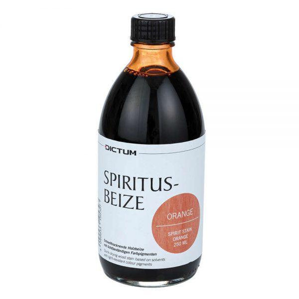spiritusbeits oranje 250 ml fles