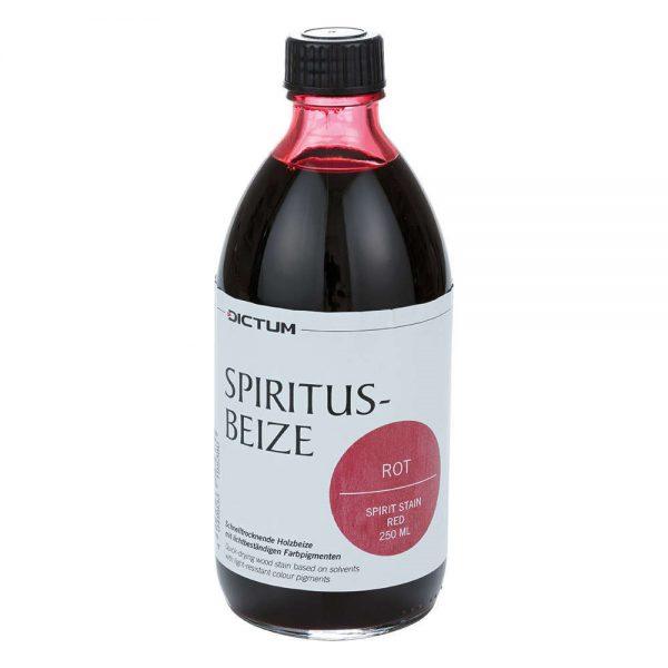 spiritusbeits rood 250 ml fles