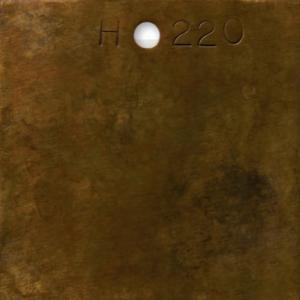 Brown Stipple over Aged Bronze